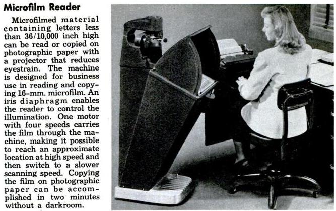 1948 microfilm reader
