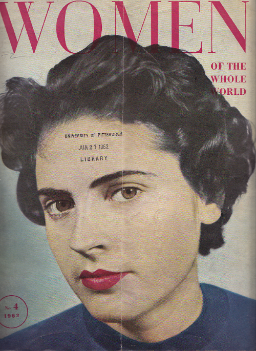 women of the world cover image no4 1962