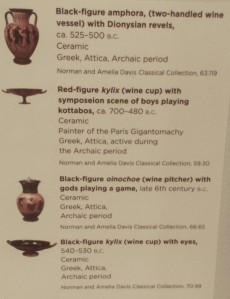 Greek vase sign
